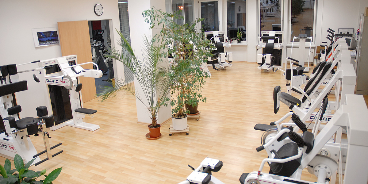 Bereich Trainingstherapie im ARC Dresden